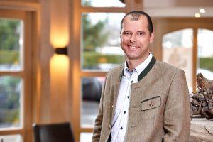 Frank Erhard, Direktor im Hotel Zugspitze (Foto: Marc Gilsdorf)