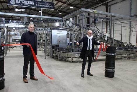 Oliver Nordmann (links) mit Wirtschaftssenator Michael Westhagemann