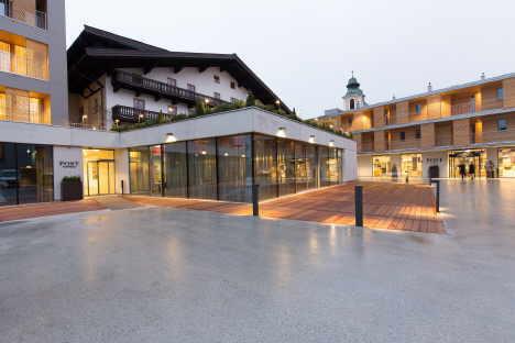 Hotel Post, St. Johann