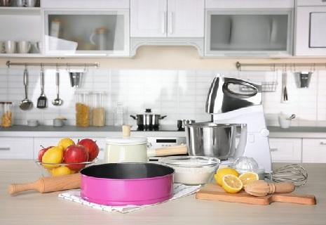 Arbeitshinweise für eine Küchenmaschine