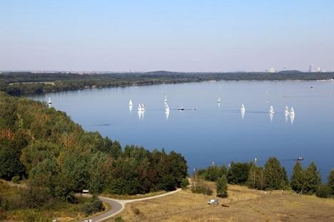 Cospudener See südlich Leipzig